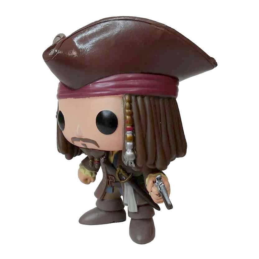 Funko Pop! Movies Jack Sparrow Piratas do Caribe vinyl figure número 48 Loose SEM CAIXA