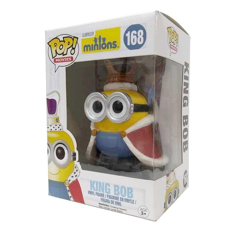 Funko Pop! Movies Meu Malvado Favorito Despicable me Minions King Bob figure número 168