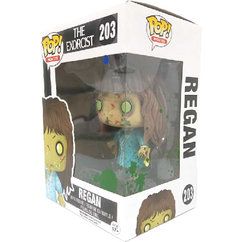 Funko Pop! Movies O Exorcista (The Exorcist) Regan vinyl figure número 203 Original