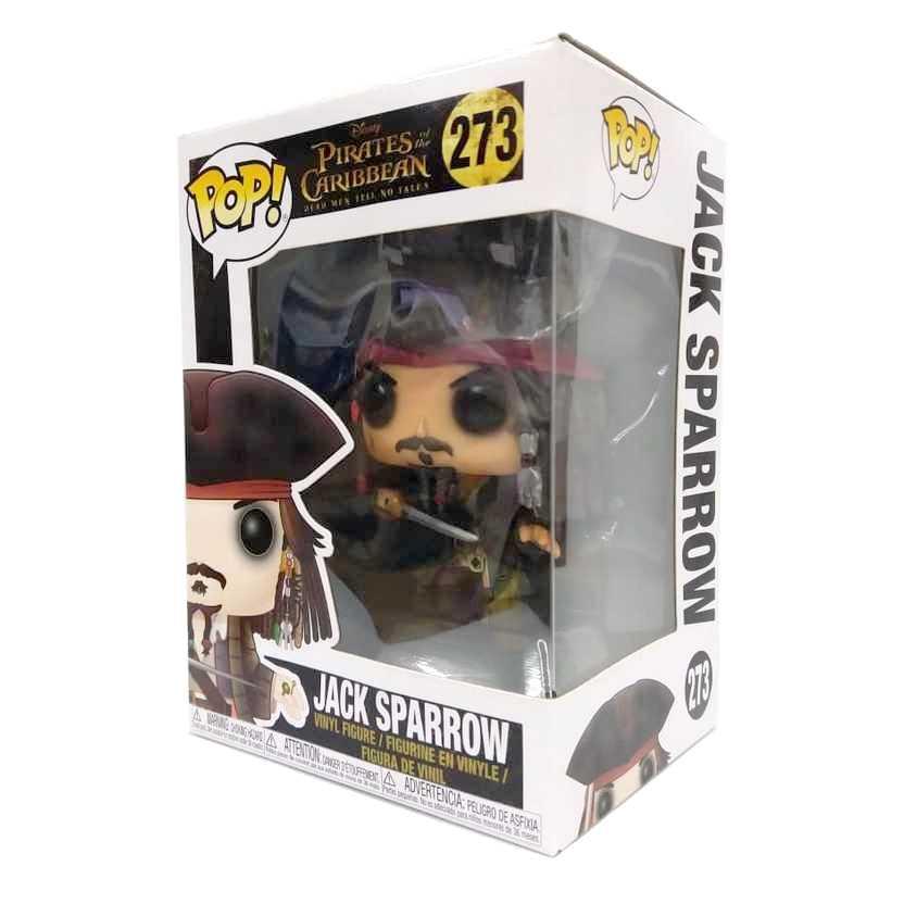 Funko Pop! Movies Pirates of The Caribbean Jack Sparrow Piratas do Caribe número 273