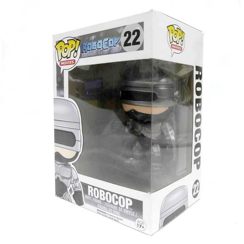 Funko Pop! Movies Robocop vinyl figure número 22 Vaulted ORIGINAL