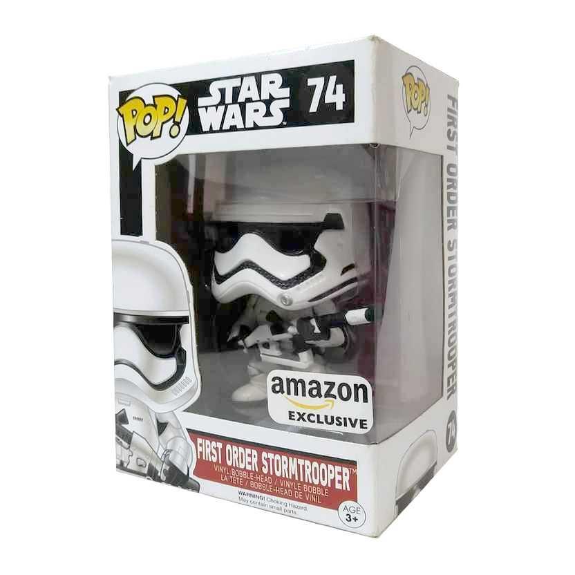 Funko Pop! Movies Star Wars First Order Stormtrooper vinyl figure número 74