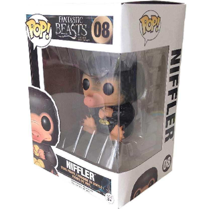 Funko Pop! Niffler Animais Fantásticos e Onde Habitam vinyl figure número 08 Original