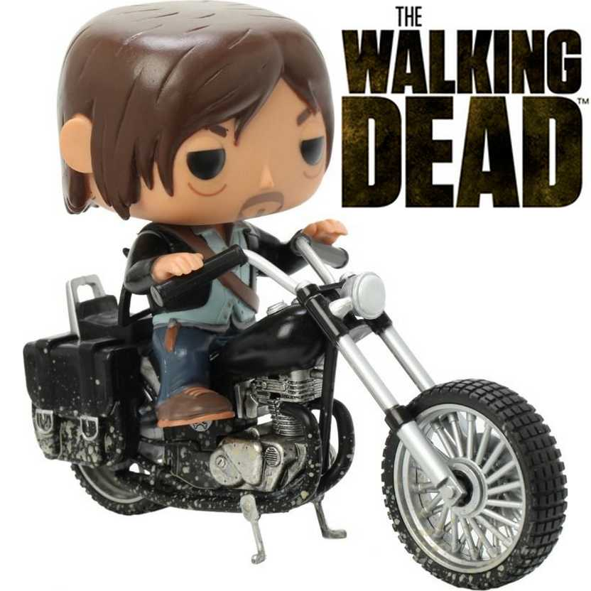 Funko Pop! Rides The Walking Dead Daryl Dixons Bike / Chooper - Daryl na moto número 08