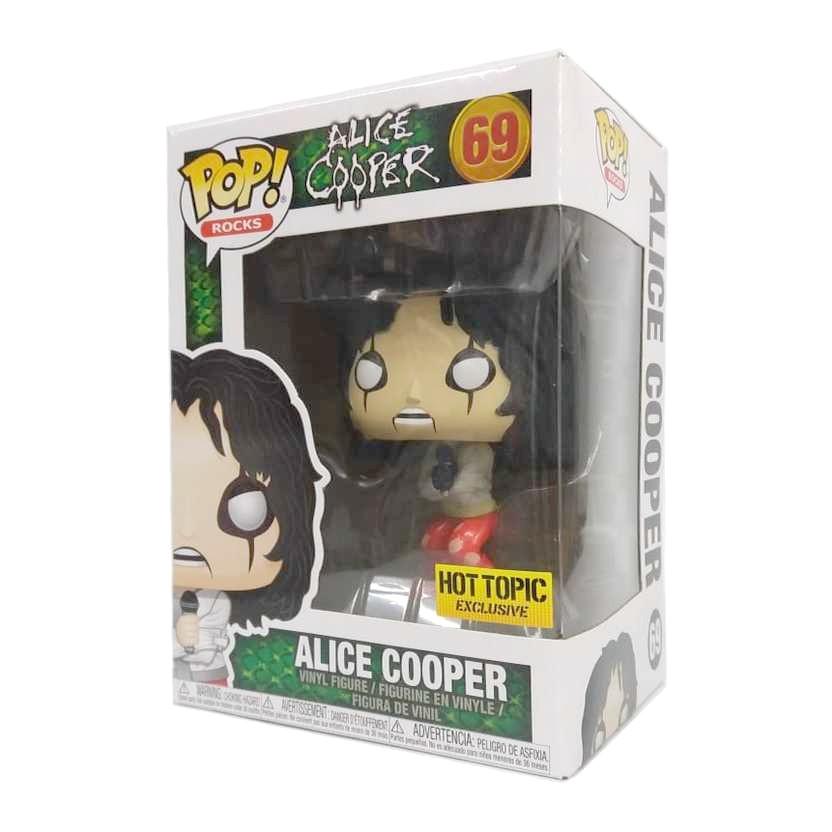 Funko Pop! Rocks Alice Cooper vinyl figure número 69 Hot Topic