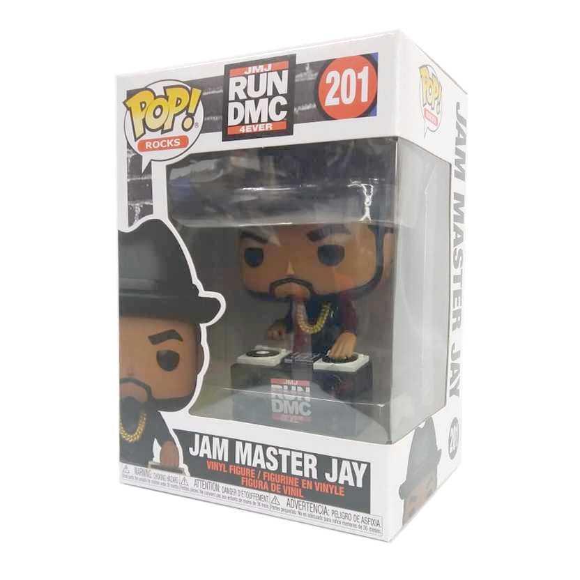 Funko Pop! Rocks JMJ Run DMC 4Ever Jam Master Jay Adidas vinyl figure número 201