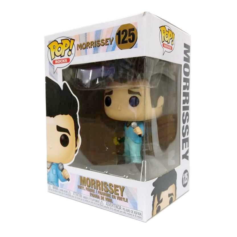 Funko Pop! Rocks Morrissey vinyl figure número 125