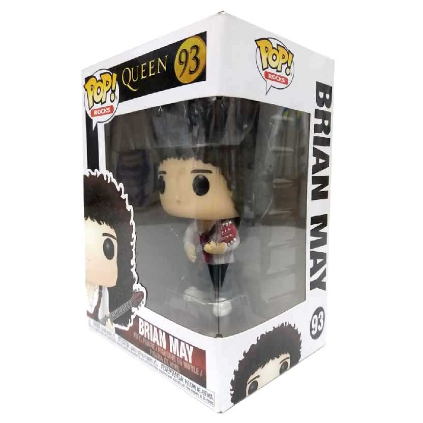 Funko Pop! Rocks Queen Brian May vinyl figure número 93 raro