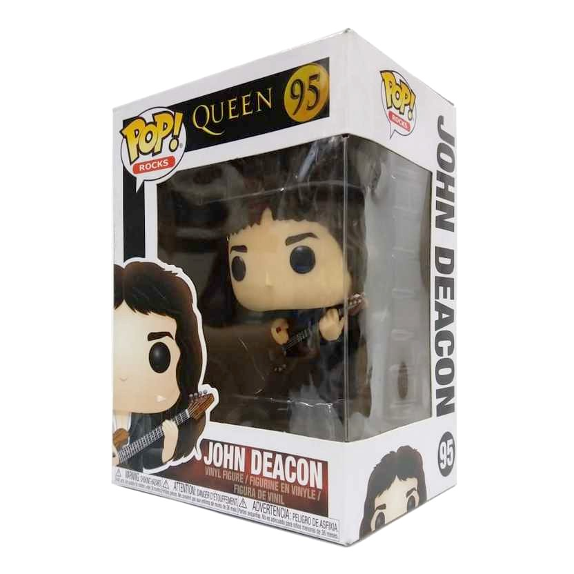 Funko Pop! Rocks Queen John Deacon vinyl figure número 95