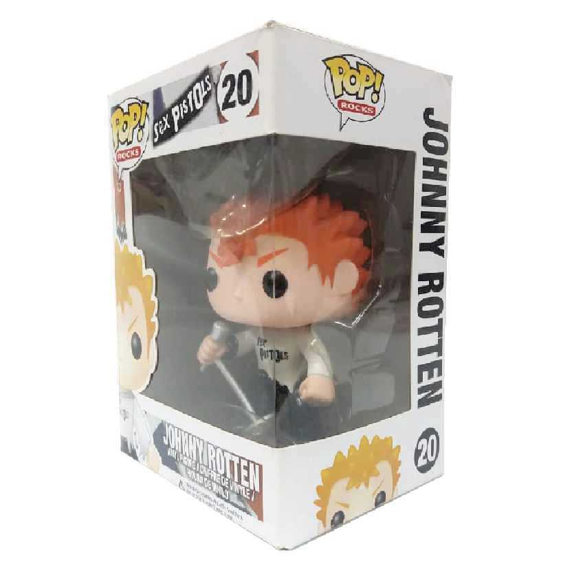 Funko Pop! Rocks Sex Pistols Johnny Rotten vinyl figure número 20