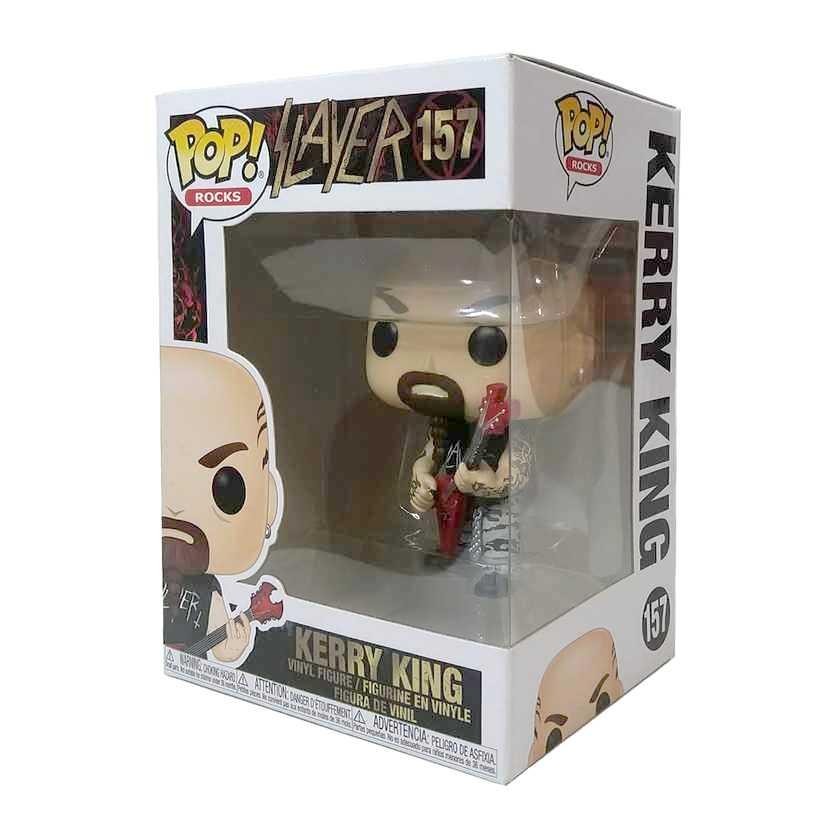 Funko Pop! Rocks Slayer Kerry King vinyl figure número 157