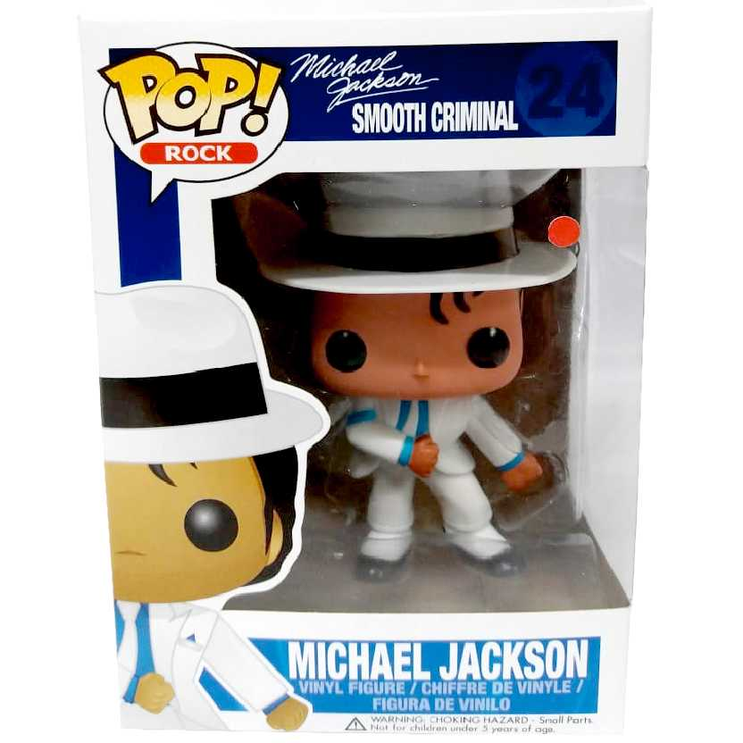 Funko Pop! Rocks vinyl Brasil comprar MJ Michael Jackson Smooth Criminal número 24