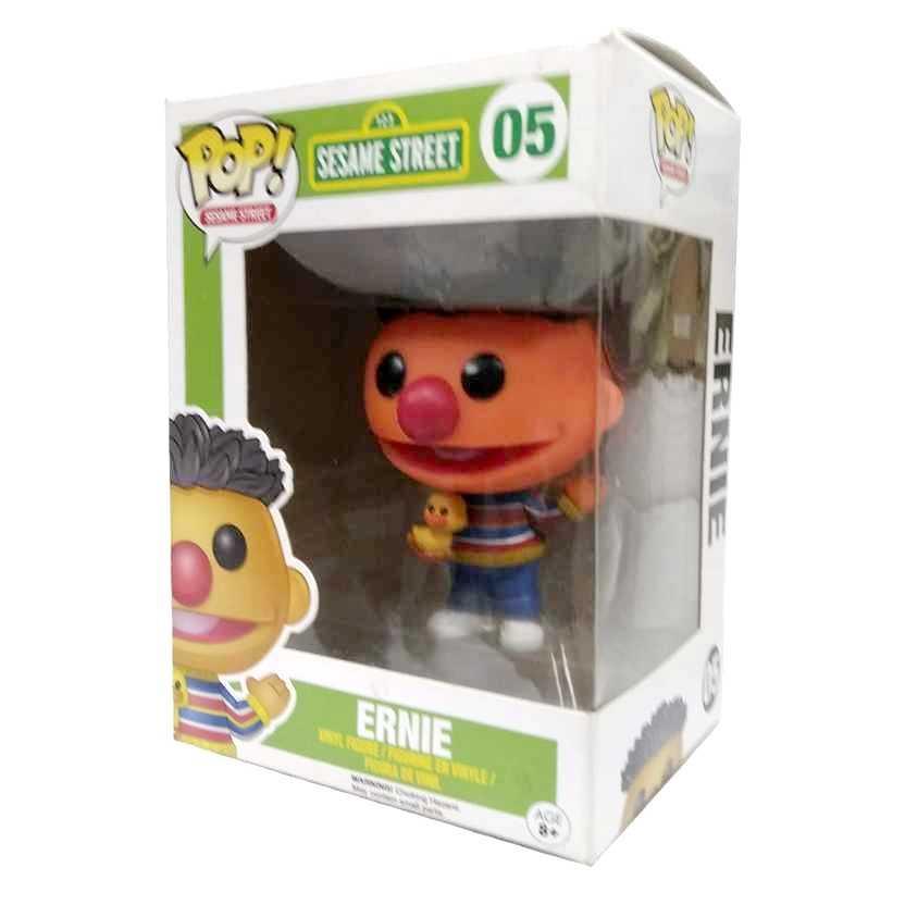 Funko Pop! Sesame Street Ernie Vila Sésamo Ênio vinyl figure número 05