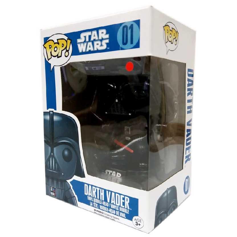 Funko Pop! Star Wars Darth Vader vinyl figure número 01 Original (balança a cabeça)