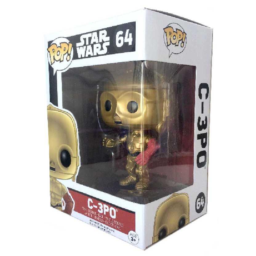 Funko Pop! Star Wars O Despertar da Força C-3PO Episode 7 The Force Awakens #58