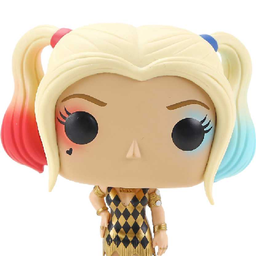 Funko Pop! Suicide Squad Harley Quinn (Gown) Hot Topic vinyl figure número 108