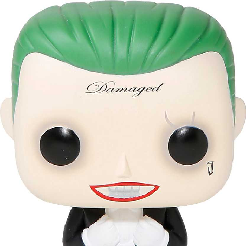 Funko Pop! Suicide Squad The Joker (Tuxedo) Hot Topic vinyl figure número 109