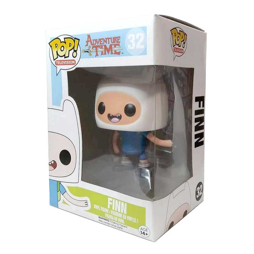 Funko Pop! Television Adventure Time Finn vinyl figure número 32