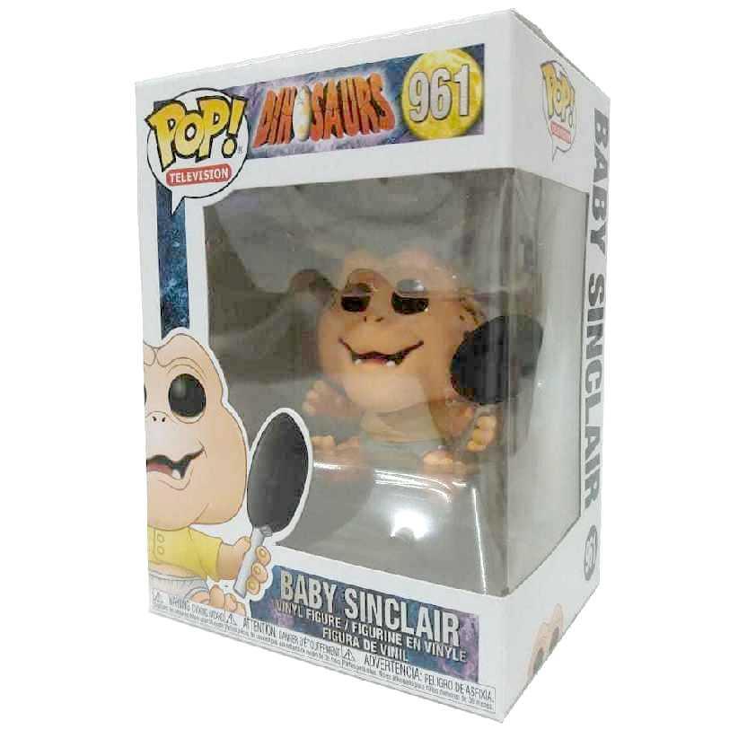 Funko Pop! Television Dinosaurs Baby Sinclair Família Dinossauro vinyl figure número 961