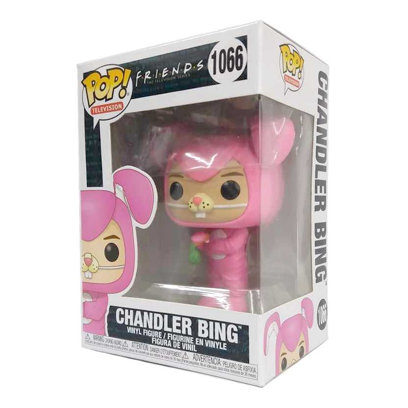 Funko Pop! Television Friends The TV series 3 Chandler Bing Bunny vinyl figure número 1066