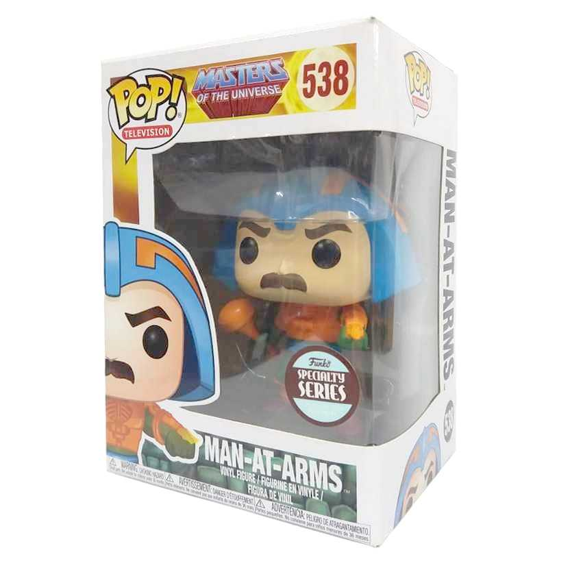 Funko Pop! Television Masters of The Universe He-man Mentor Man-at-Arms figure número 538
