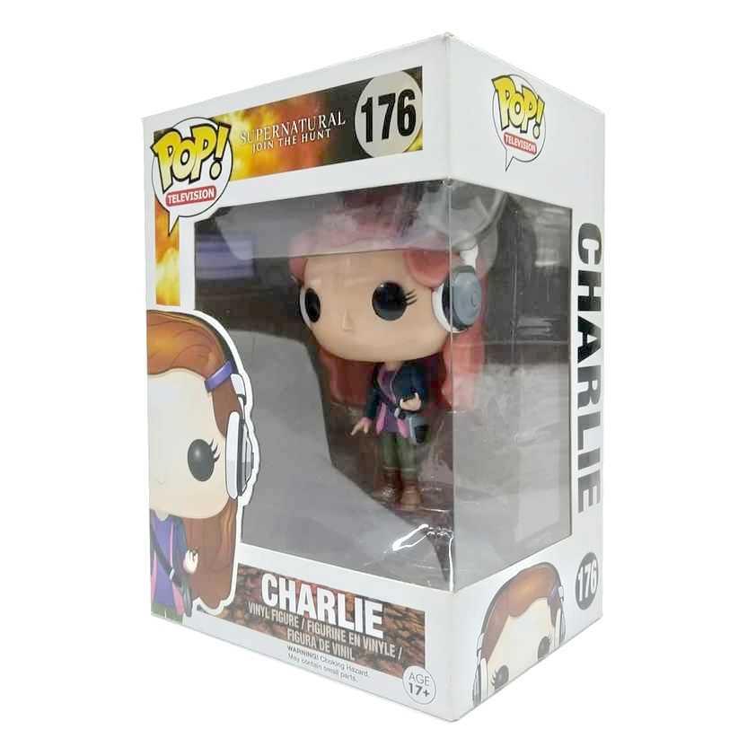Funko Pop! Television Supernatural Sobrenatural Charlie Bradbury número 176 Vaulted