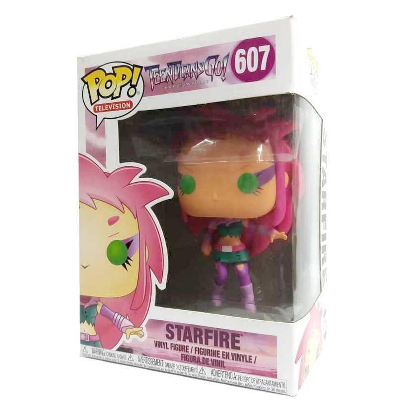 Funko Pop! Television Teen Titans Go! Starfire vinyl figure número 607