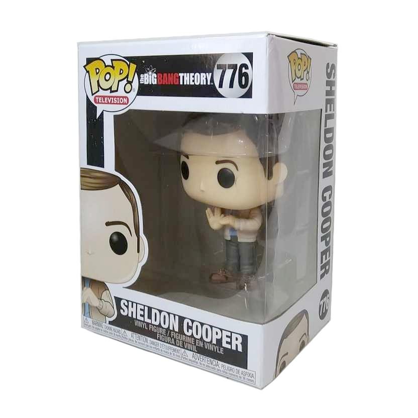 Funko Pop! Television The Big Bang Theory Sheldon Cooper vinyl figure número 776