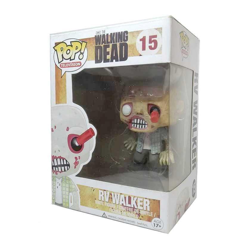 Funko Pop! Television The Walking Dead RV Walker vinyl figure número 15 Vaulted