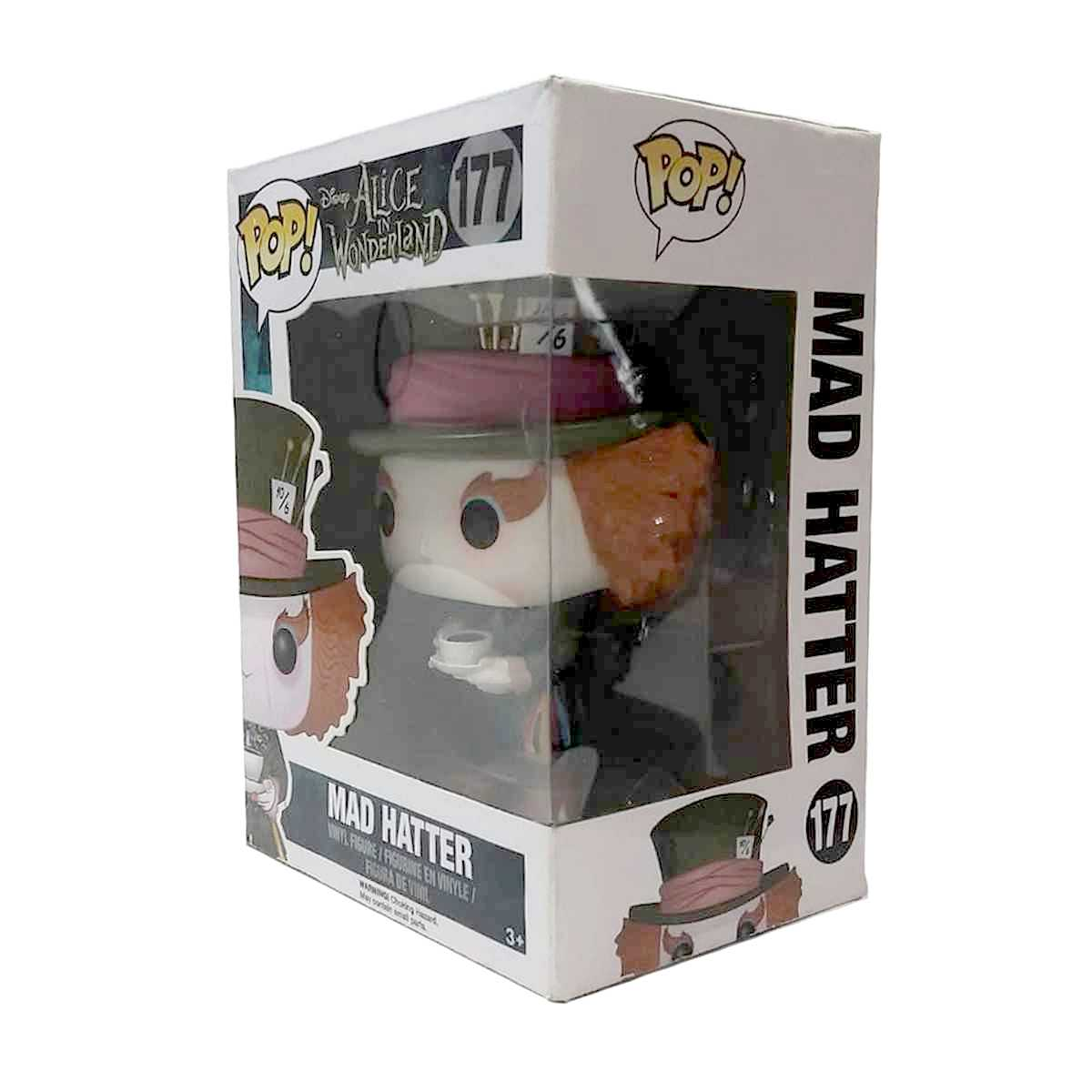 Funko Pop! Through The Looking Glass Chapeleiro Maluco (Johnny Depp) Mad Hatter Hot Topic #204