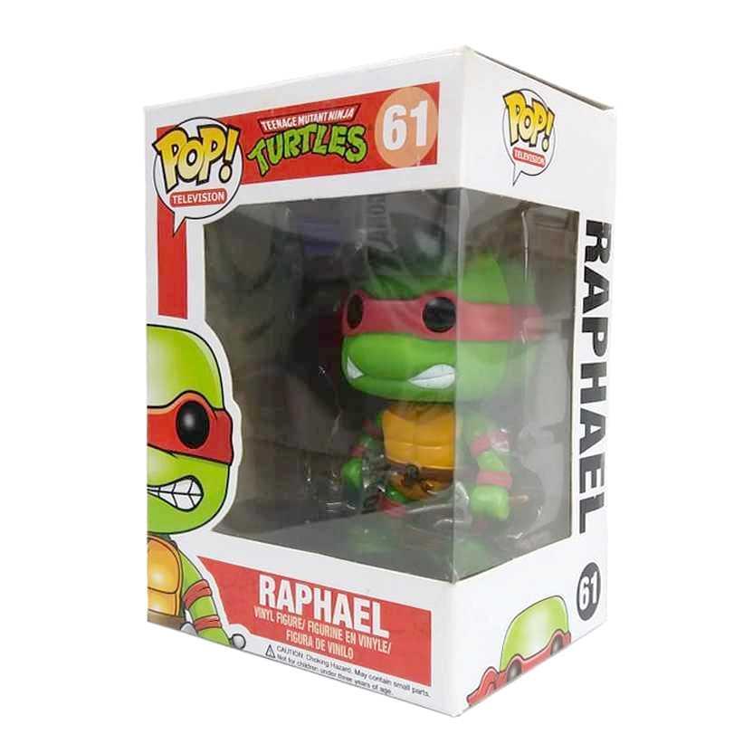 Funko Pop! TV Tartarugas Ninjas Teenage Mutant Ninja Turtles Raphael figure número 61