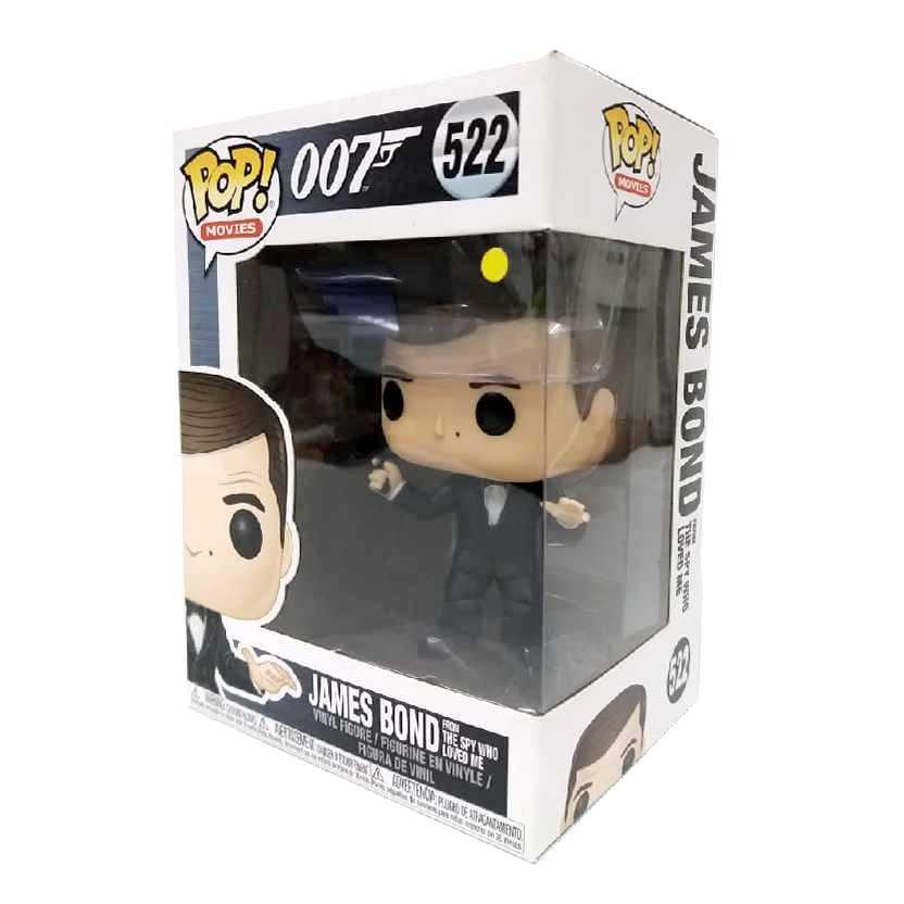 Funko Pop 007 James Bond Roger Moore The Spy Who Loved Me figura número 522
