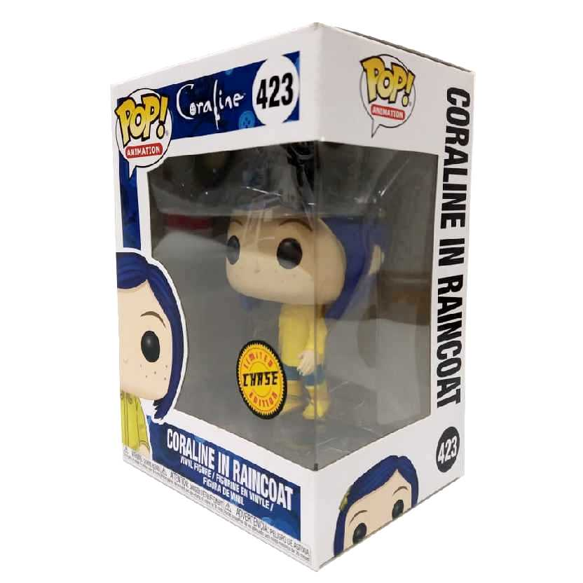 Funko Pop Animation Chase Coraline in Raincoat vinyl figure número 423
