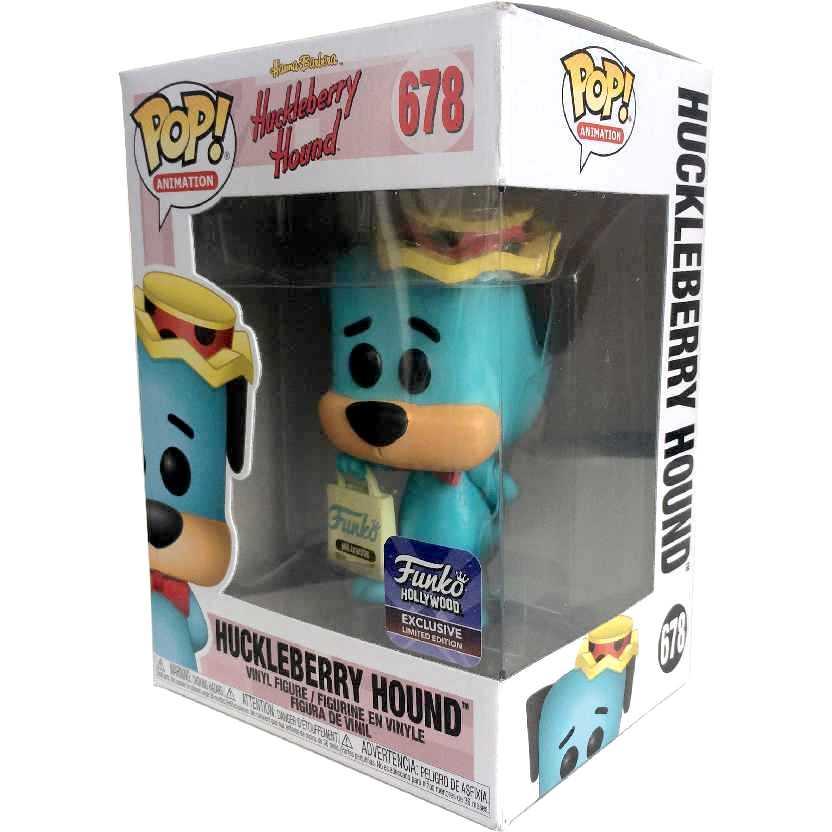 Funko Pop Animation Dom Pixote Huckleberry Hound Hanna-Barbera #678