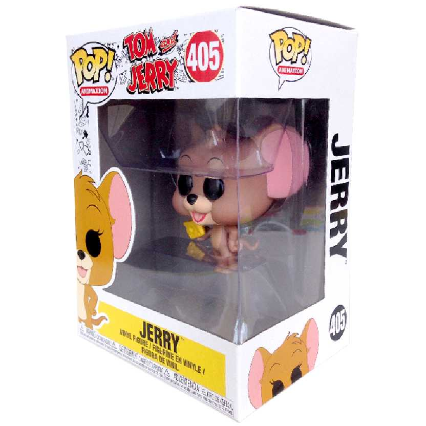 Funko Pop Animation Jerry (Tom e Jerry) vinyl figure número 405