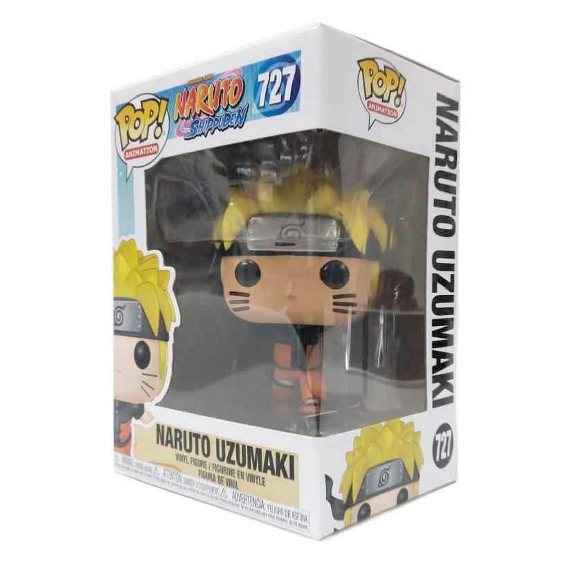 Funko Pop Animation Naruto Uzumaki correndo com os braços para trás Shippuden #727