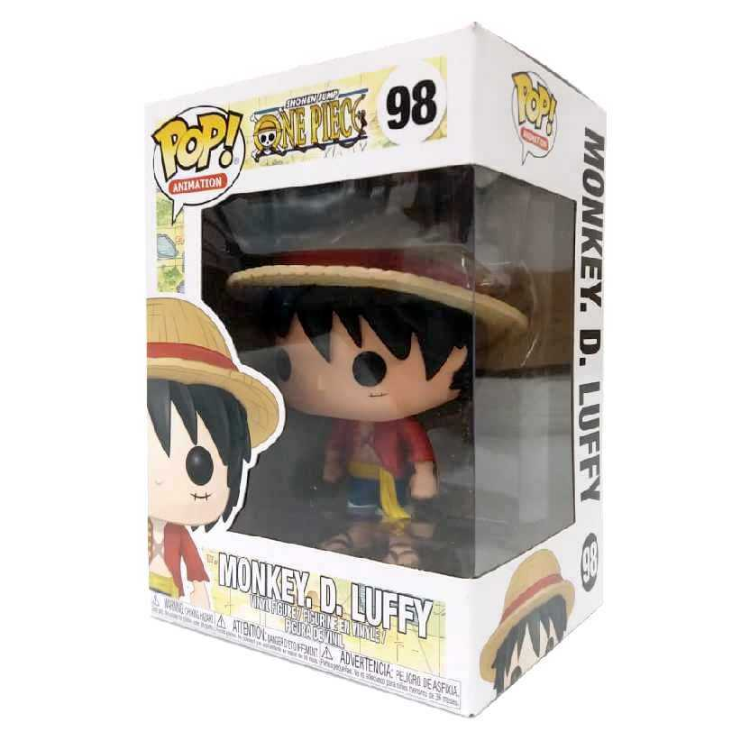 Funko Pop Animation Shonen Jump One Piece Monkey D. Luffy vinyl figure número 98
