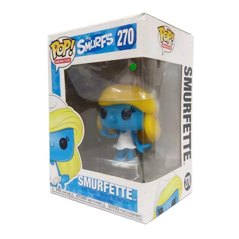 Funko Pop Animation The Smurfs Smurfette vinyl figure número 270 Vaulted