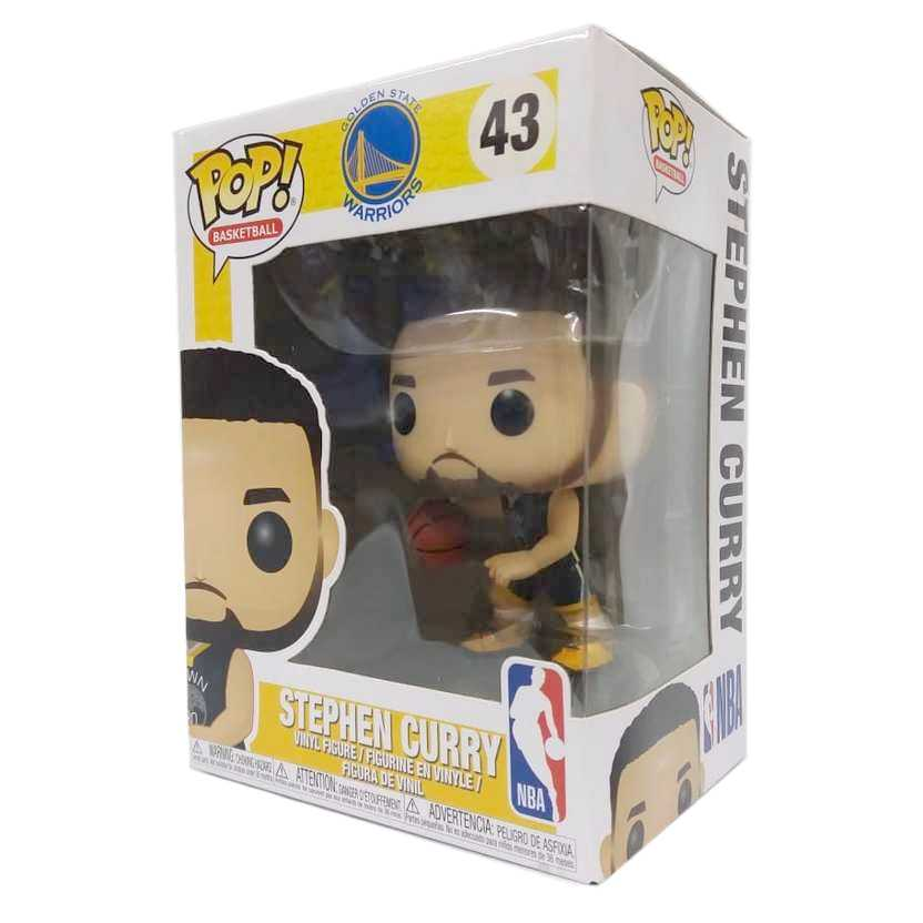 Funko Pop Basketball NBA Golden State Warriors Stephen Curry vinyl figure número 43
