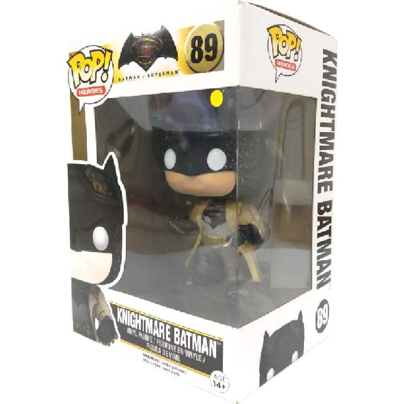 Funko Pop Batman Vs Superman Dawn of Justice Knightmare Batman #89 comprar barato no Brasil