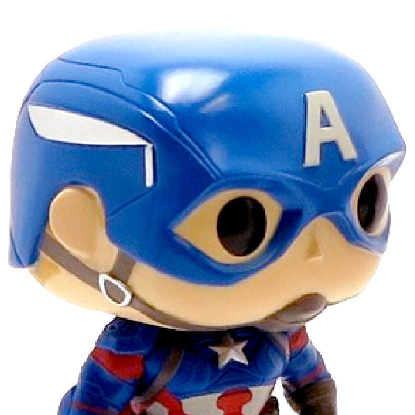 Funko Pop Captain America (Civil War) Capitão América: Guerra Civil vinyl figure número 125