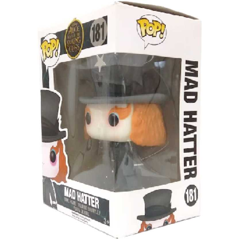 Funko pop Chapeleiro Maluco 2 Johnny Depp Alice Through The Looking Glass Mad Hatter 181