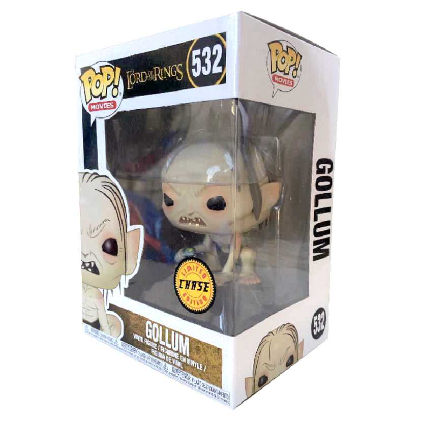 Funko Pop Chase O Senhor dos Anéis (The Lord of The Rings) Gollum vinyl figure número 532