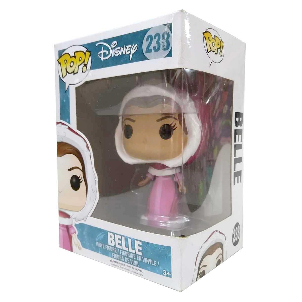 Funko Pop Disney Beauty and The Beast (A Bela e a Fera) Bela (Belle) vinyl figure número 238