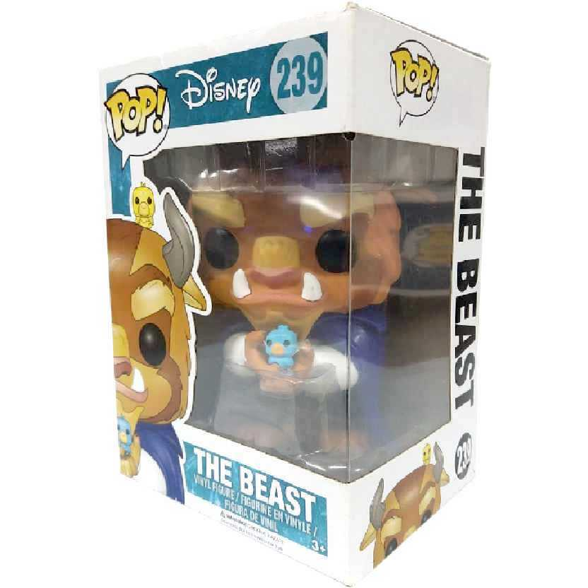Funko Pop Disney Beauty and the Beast A Bela e a Fera Winter Beast A Fera número 239