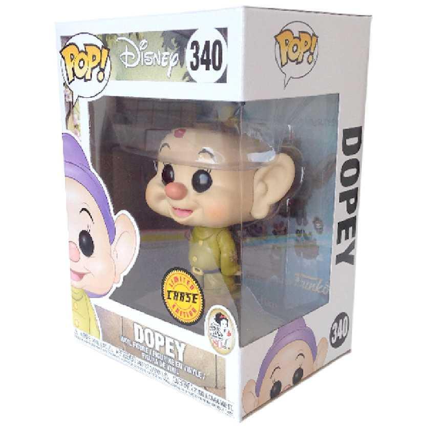 Funko Pop Disney CHASE Branca de Neve e os 7 anões (Dunga) vinyl figure número 340