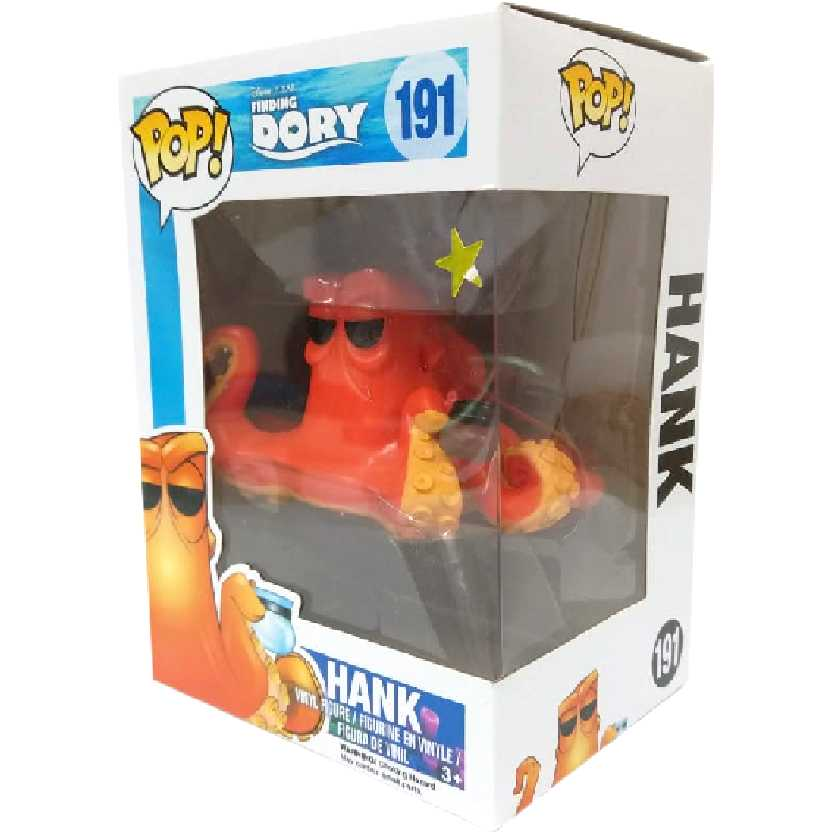 Funko Pop Disney Encontrando Dory Hank / Polvo Finding Dory vinyl figure número 191