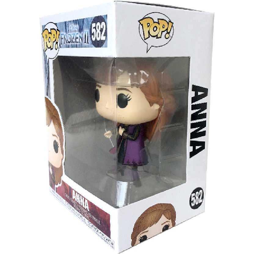 Funko Pop Disney Frozen 2 Anna vinyl figure número 582