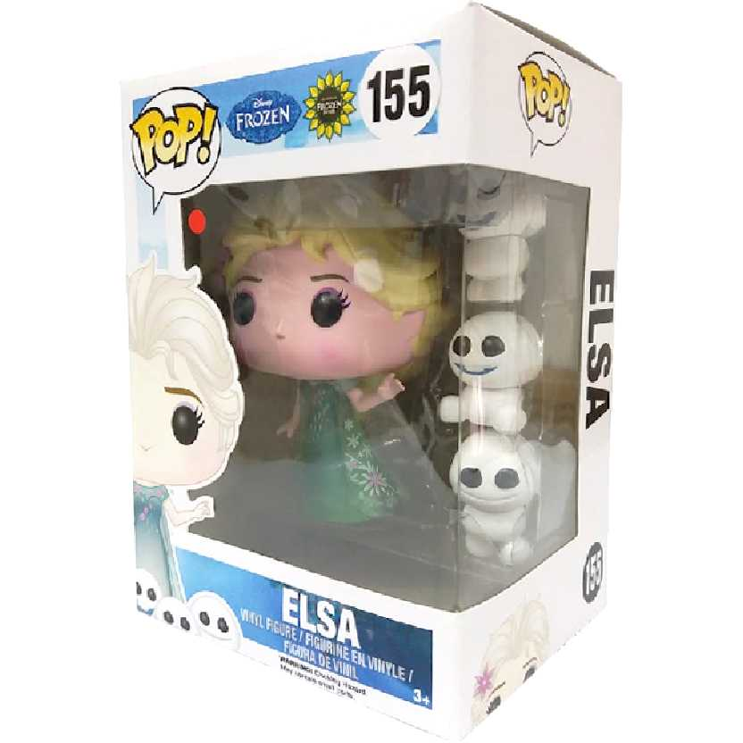 Funko Pop Disney Frozen Fever Elsa vinyl figure número 155 Vaulted
