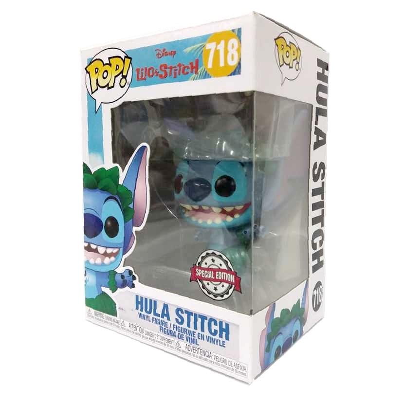 Funko Pop Disney Lilo e Hula Stitch vinyl figure número 718